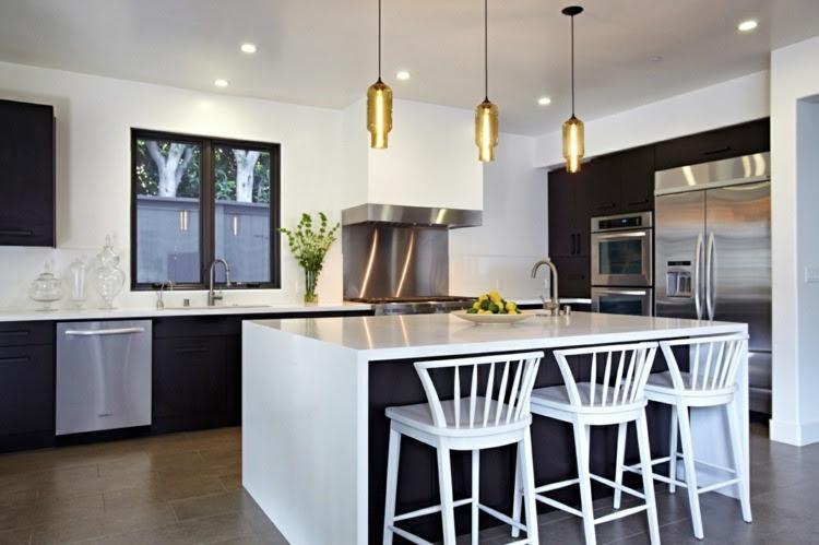 kücheninsel beleuchtung  5 ideen für ein perfektes ambiente