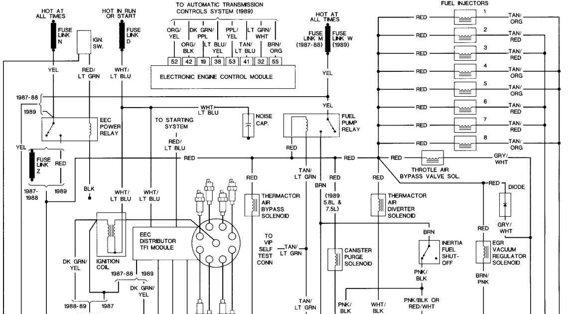 1987 Ford Pickup Wiring Diagram