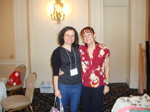 me and Sandra Betzina!