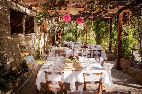 beautiful wedding setting by Vasilias Weddings Cyprus