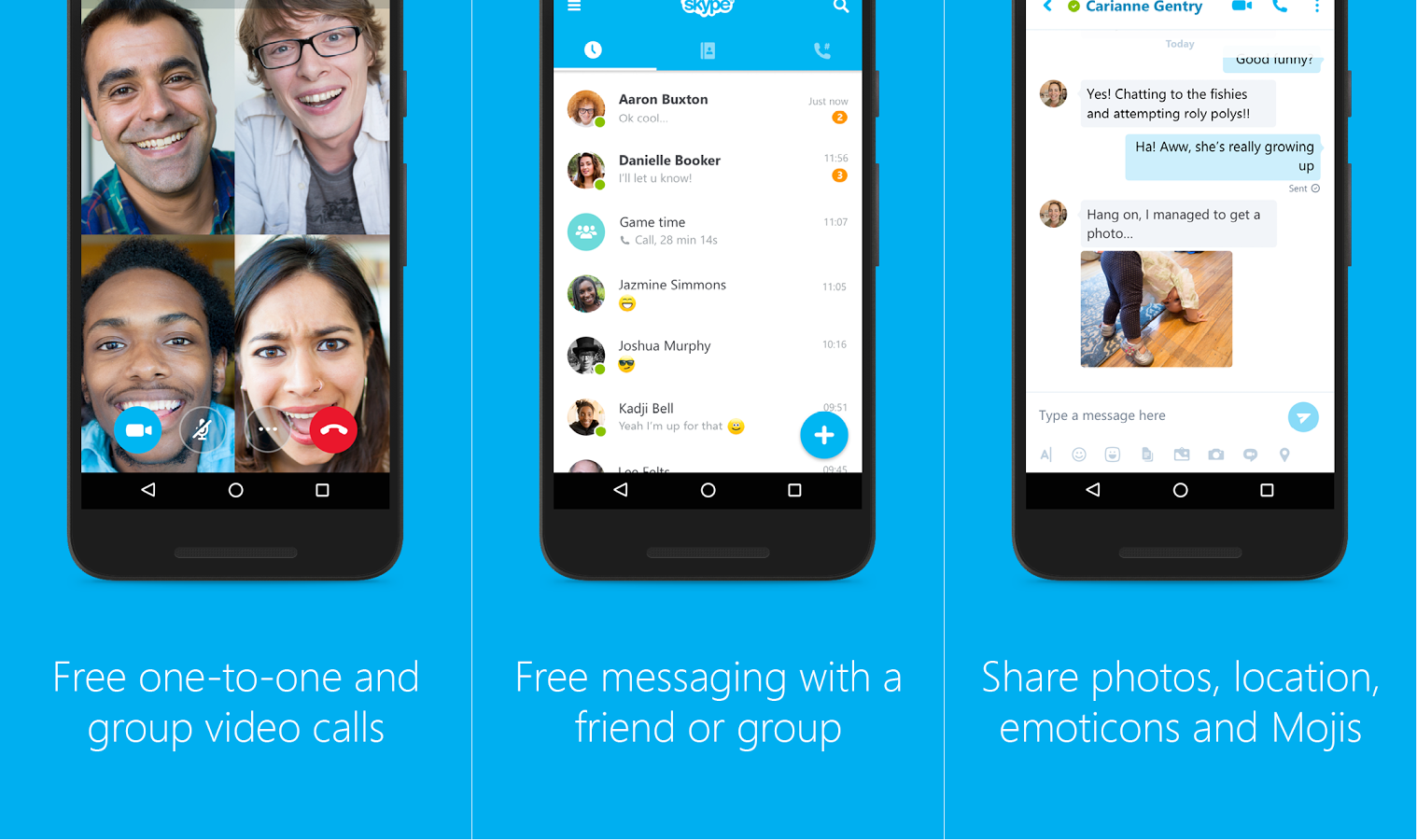 8 Best Video Calling Apps for Android in 2017 | Phandroid