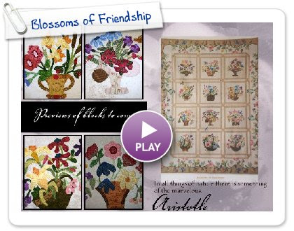 Click to play Blossoms of Friendship