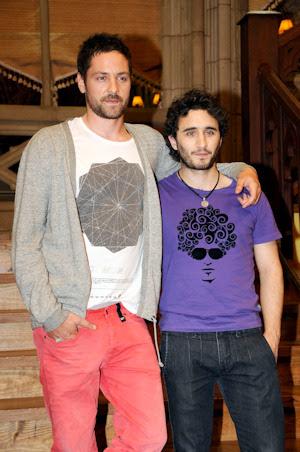 Iñaki Font y Eduardo Mayo, fichajes de 'El  internado'