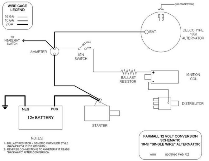 21 Elegant Farmall Super A 12 Volt Wiring Diagram