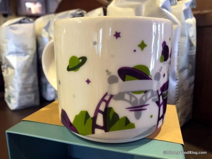 Magic Kingdom You Are Here Tomorrowland Mug