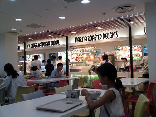 The SGH Kopitiam food court has gotten a facelift