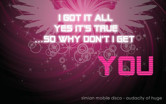 Audacity of huge simian mobile disco
