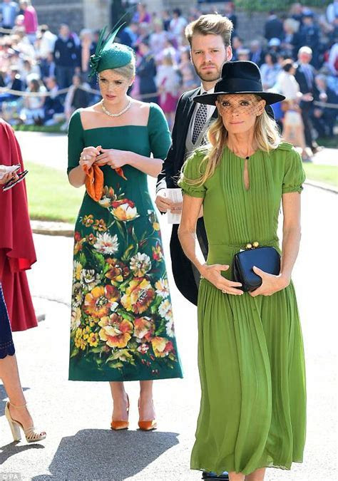 Lady Kitty Spencer stuns as Diana's family arrive at Royal