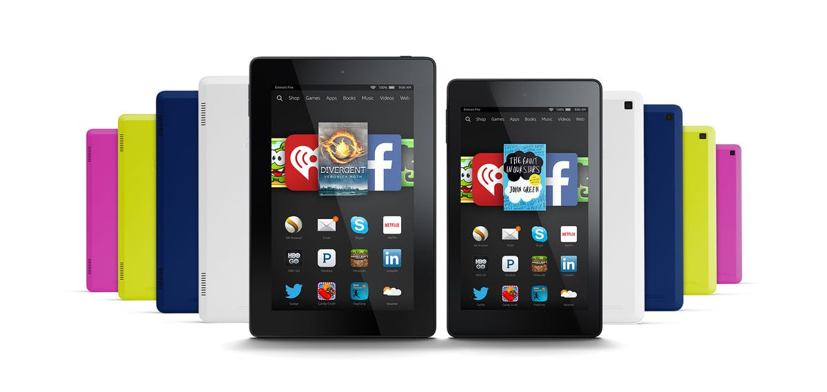 Fire HD 6 HD 7 Colors