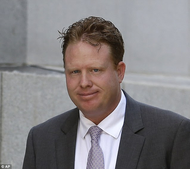 Alleged scam: Indicted St. George businessman Jeremy Johnson walks to the federal courthouse before a hearing Thursday, June 13, 2013, in Salt Lake City