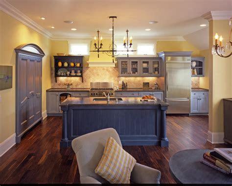 blue  yellow kitchen traditional kitchen san