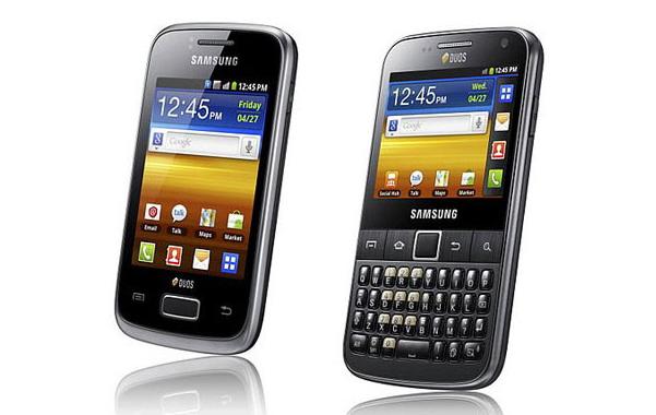 Galaxy Y Duos e Galaxy Y Duos Pro (Foto: Divulgação)