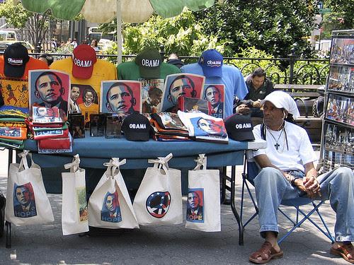 Obama table, Union Square