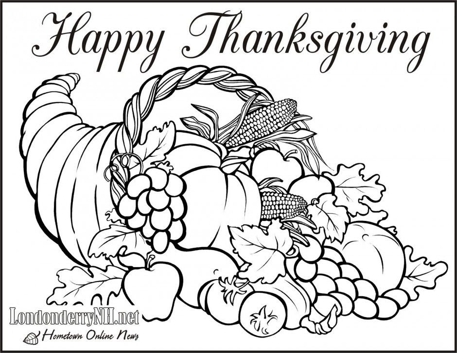 Free Printable Thanksgiving Coloring Sheets For Kids - Drawing With Crayons