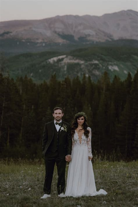 This Tenmile Station Wedding in Breckenridge, CO is