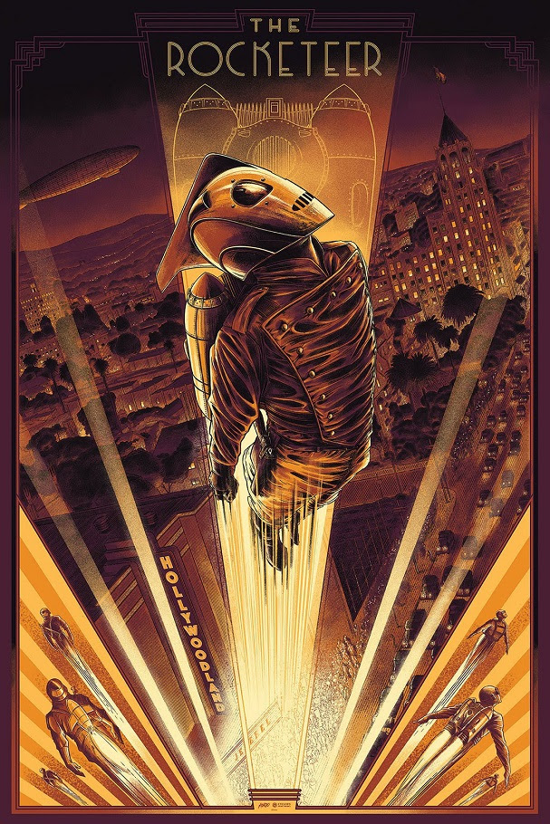 The Rocketeer by Cesar Moreno 607