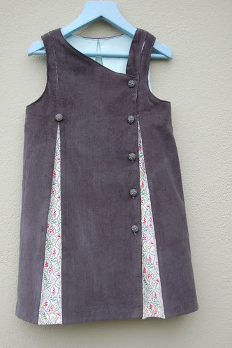 Grey Fiona Pinafore