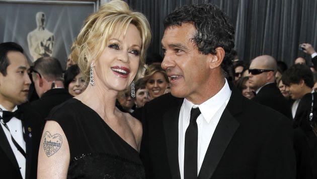 Melanie Griffith le pidió el divorcio a Antonio Banderas. (AFP)