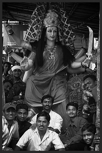 Durga Rides The Crest... by firoze shakir photographerno1