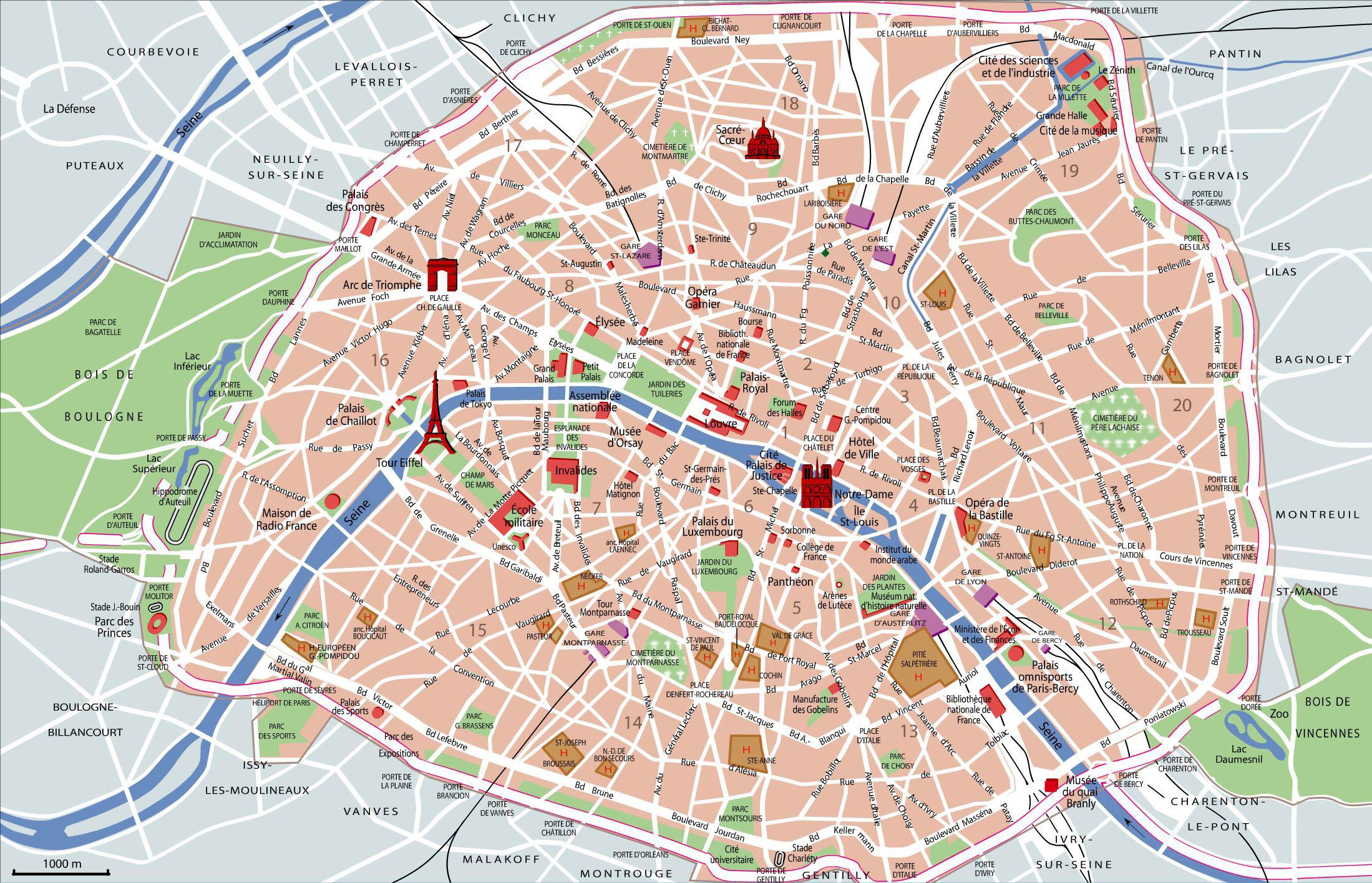 Plan Metro Paris Site Touristique   Subway Application