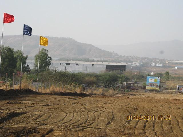 View of Elite Landmark's Elite Green Acres - One of a kind township of 1.5 BHK & 2 BHK Flats - near Dajikaka Gadgil Developers' AnantSrishti Kanhe
