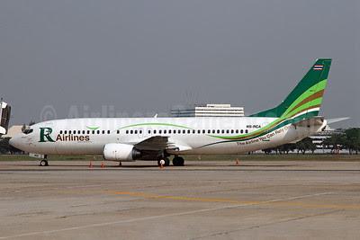 R Airlines-Skyview Airways Boeing 737-484 HS-RCA (msn 25313) DMK (Duncan Kirk). Image: 911873.