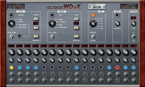 ClockWOrK Vintage Stepsequencer VST