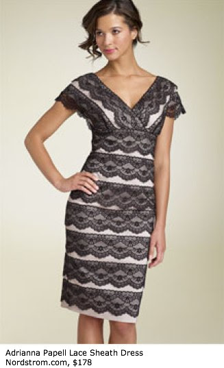 Adrianna Papell Lace Sheath Dress - Sleeves - Nordstrom