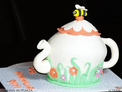 Çaydanlık Pasta / Teapot Cake
