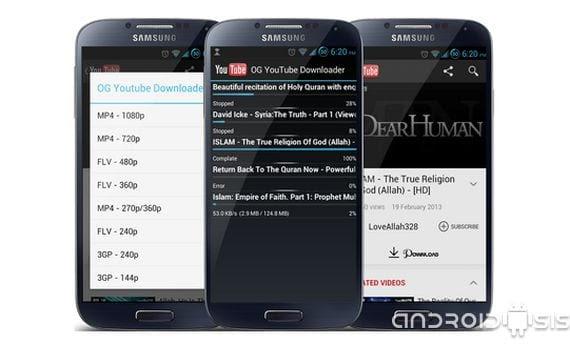descarga los contenidos de you tube directamente desde tu smartphone o tablet 2 Descarga los contenidos de You Tube directamente desde tu Smartphone o Tablet