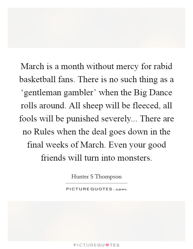 Month Of March Quotes Sayings Month Of March Picture Quotes