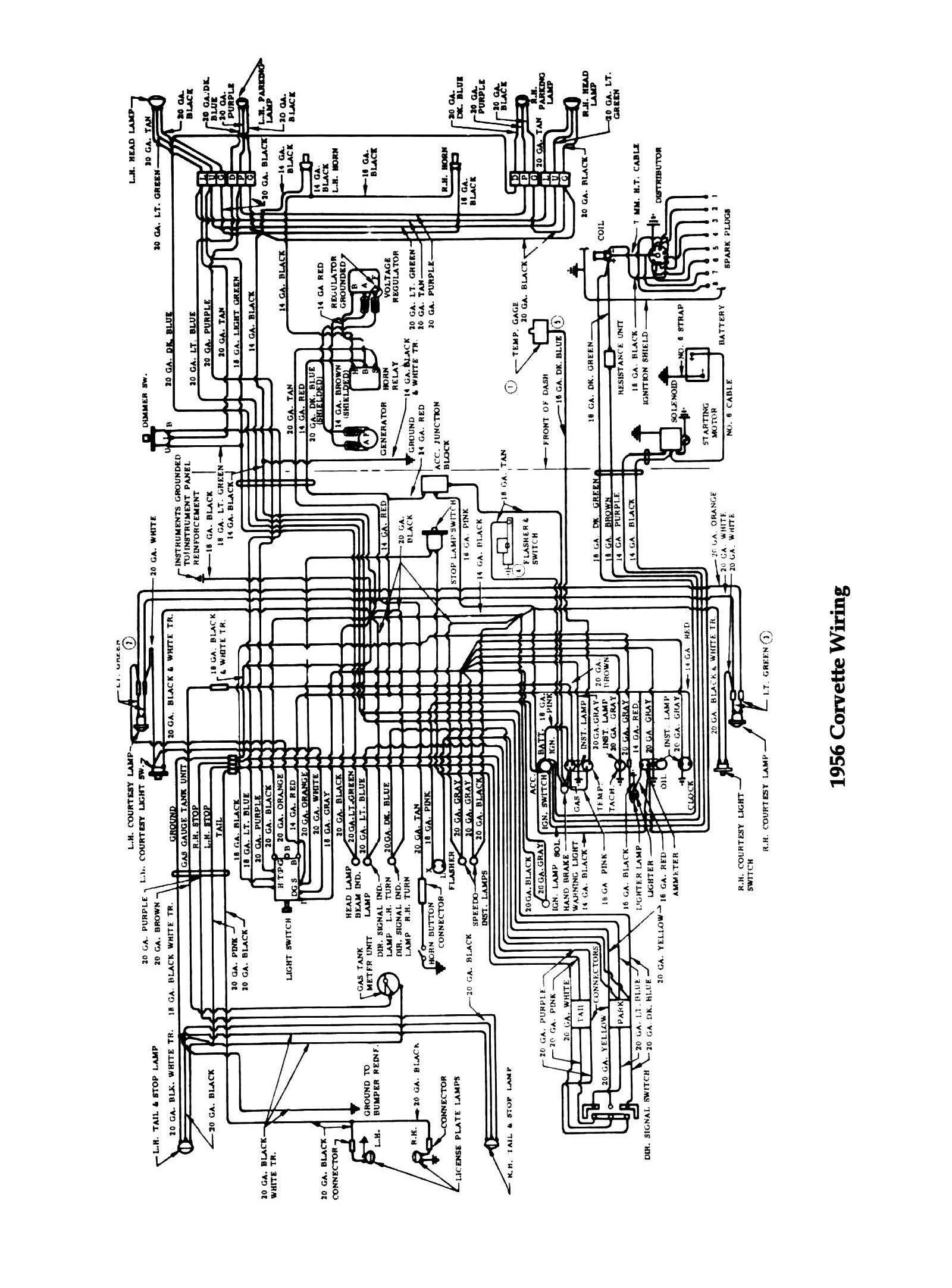 74 Corvette Wiring Diagram