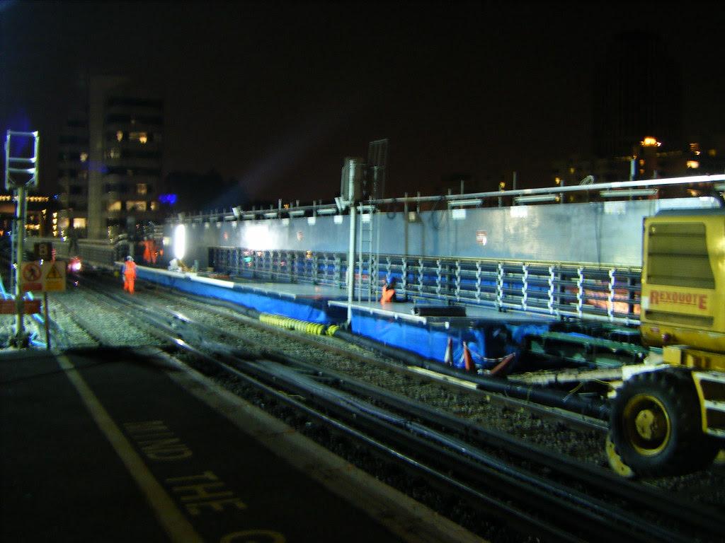 Blackfriars Platform 5 Works
