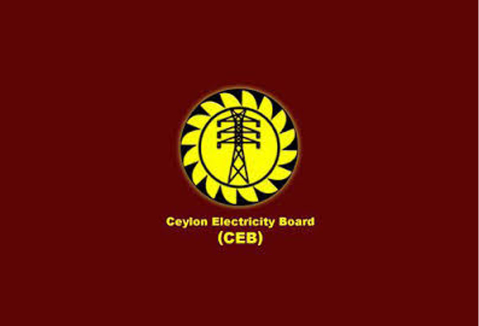 CEB workers raise black flags in protest