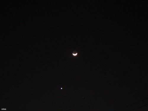 Lua e estrela by Vinícius M. B. Rodrigues