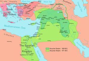 Η επέκταση της Ασσυρίας από το 824 στο 671 π.Κ.Ε.