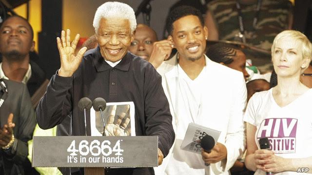 جشن تولد ۹۰ سالگی ماندلا