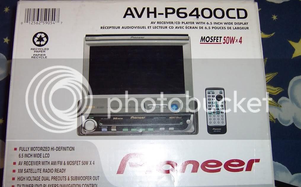 Pioneer Avh P6400cd Wiring