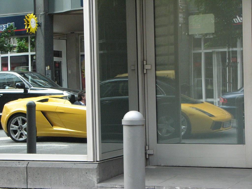 Reflected Lamborghini