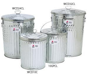 Galvanized Garbage Cans Commercial Trash Cans