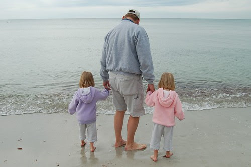Dad and his girls