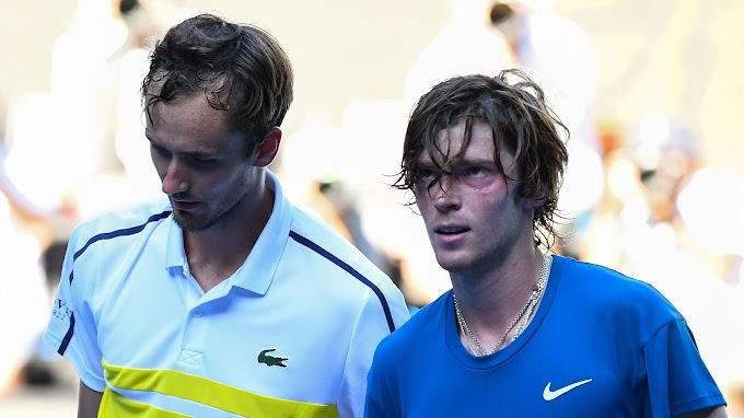 Даниил Медведев и Андрей Рублев из России сыграют друг с другом в полуфинале турнира ATP Цинциннати серии «Мастерс»
