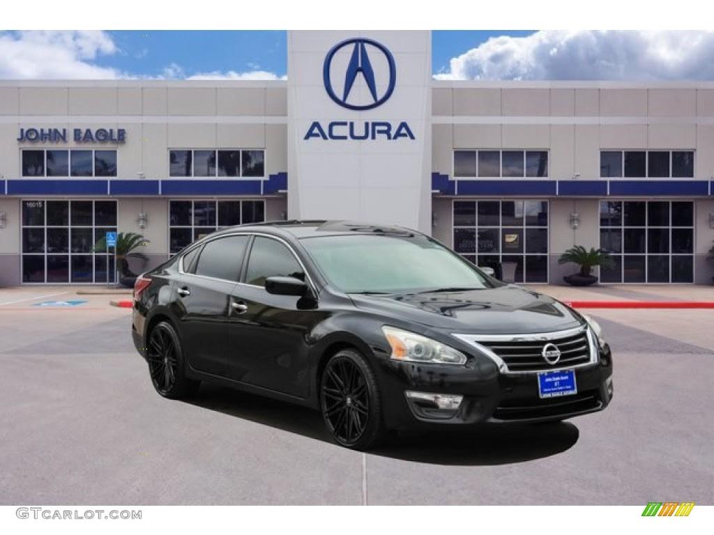 Perfect Nissan 2013 Nissan Altima Black Rims