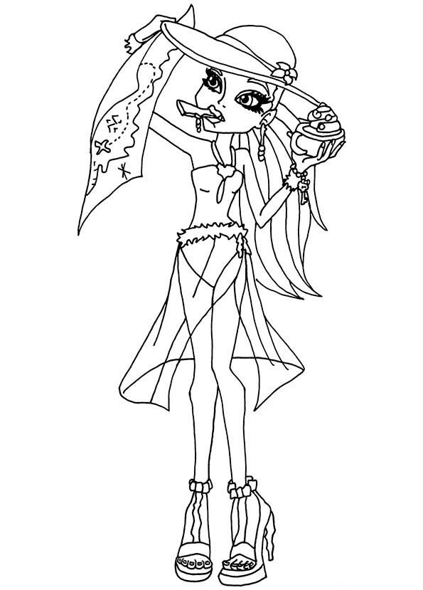 154 Dessins De Coloriage Monster High à Imprimer Sur Laguerchecom