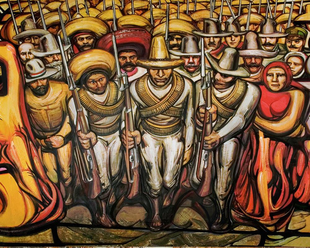 Murales De Jose Clemente Orozco Palacio De Gobierno