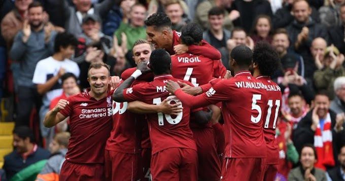 Liverpool set new record for unbeaten league games at Anfield