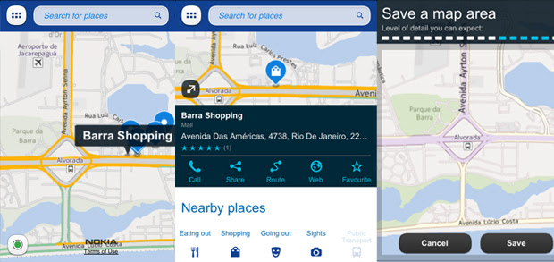 Nokia Maps (Foto: TechTudo)