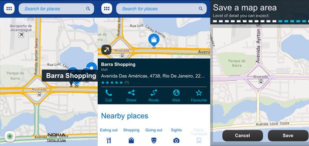 Nokia Maps (Foto: TechTudo)