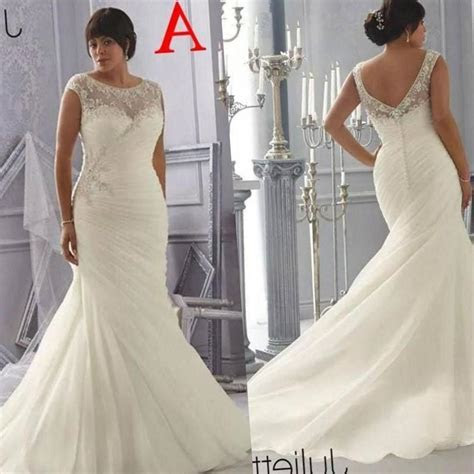 Plus size discount wedding dresses   PlusLook.eu Collection