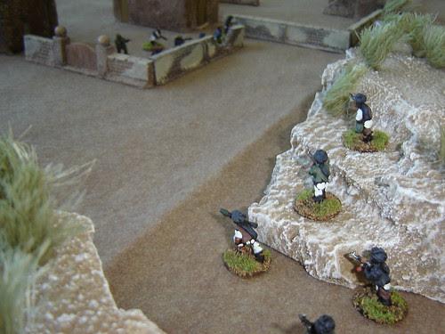 Taliban lurk in ravine